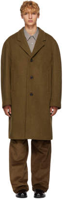 Lemaire Tan Chesterfield Coat