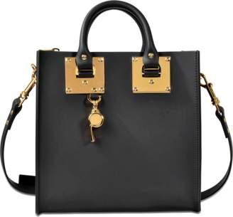 Sophie Hulme Square Albion tote bag $765 thestylecure.com