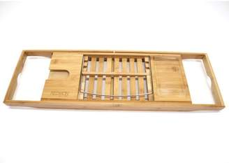 Redmon Bamboo Spa & Shower Collection by Bamboo Bathtub Caddy