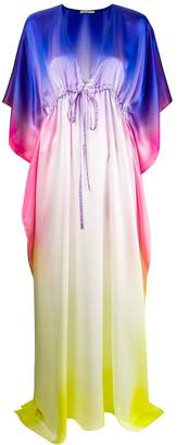 Amen gradient-effect dress