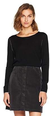 BOSS Women's Ikiko 10201043 01 Cardigan, (Black 001), Large