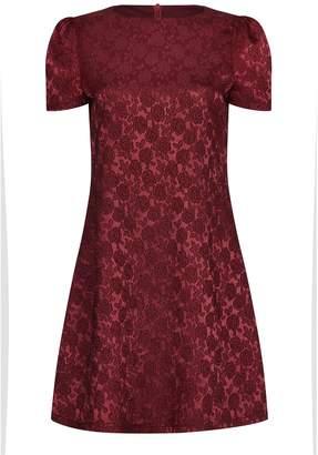 Yumi London Embossed Floral Dress