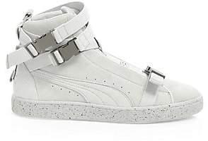 Puma Men's The Weekend High-Top Suede Sneakers