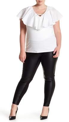 Tart Morgan Vegan Leather Pants (Plus Size)