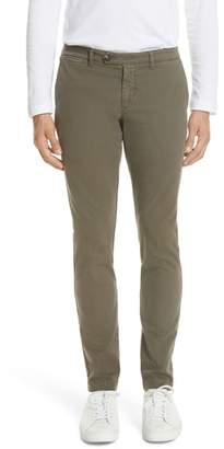 Eleventy Stretch Cotton Chino Pants