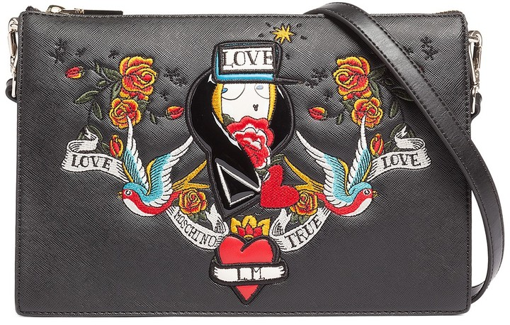 Love Moschino LOVE Moschino Applique Crossbody
