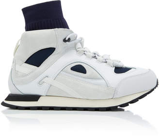 Maison Margiela Security Runner High-Top Sneakers