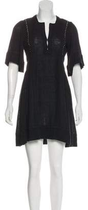 Etoile Isabel Marant Short Sleeve Mini Dress