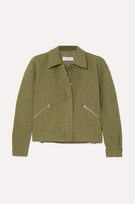 Rag & Bone Fleet Cotton-canvas Jacket - Green