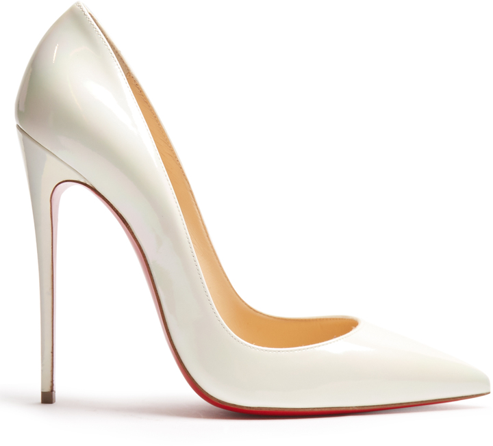 CHRISTIAN LOUBOUTIN So Kate 120mm pearlescent pumps