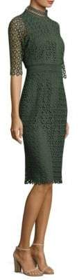 Shoshanna Olivie Dot Lace Dress