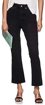 Ksubi Women's Skinny Kick'n Flared Jeans - Black