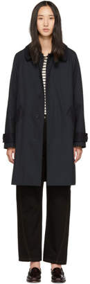 A.P.C. Navy Cabourg Coat