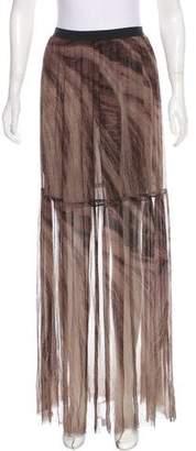 Raquel Allegra Silk Maxi Skirt