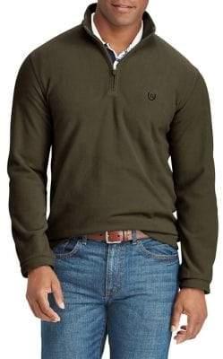 Chaps Big Tall Half-Zip Fleece Pullover