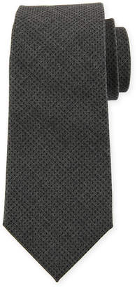 Brunello Cucinelli Tonal-Dot Wool Tie
