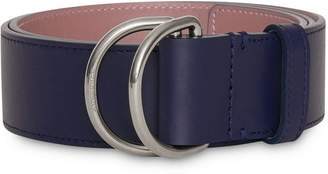 Burberry Leather Double D-ring Belt