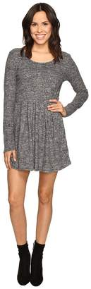 Brigitte Bailey Rebecca Fuzzy Long Sleeve Dress Women's Dress