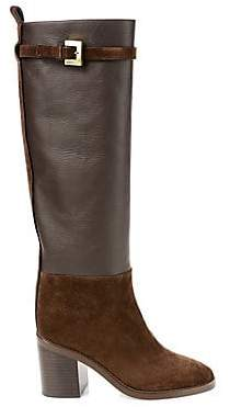 Stuart Weitzman Women's Morrison Knee-High Suede Boots