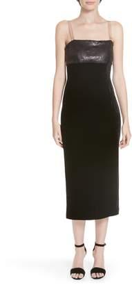 Cinq à Sept Calla Sequin & Velvet Dress