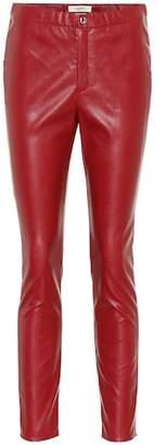 Etoile Isabel Marant Isabel Marant, Étoile Zeffery faux leather leggings