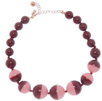 Kate Spade In A Flash Striped Beaded Necklace