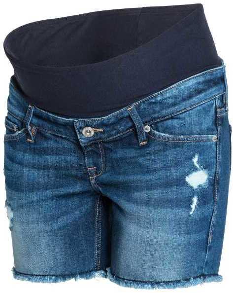 H&M MAMA Denim Shorts