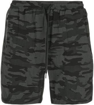 The Upside camouflage print cargo shorts