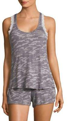 Honeydew Intimates Two-Piece Camouflage Pajama Set