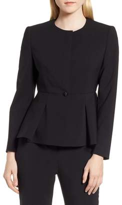 BOSS Jolanna Tropical Stretch Wool Jacket