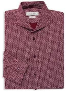 Bugatti Abstract Print Dress Shirt