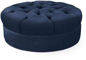 """Serena & Lily Hingham Tufted Ottoman - 37"""""""