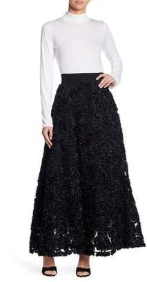 Gracia Three-Dimensional Flower Skirt