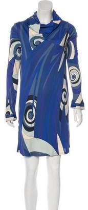 Emilio Pucci Printed Shift Dress