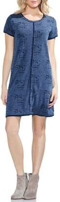 Vince Camuto M?lange Jersey T-Shirt Dress