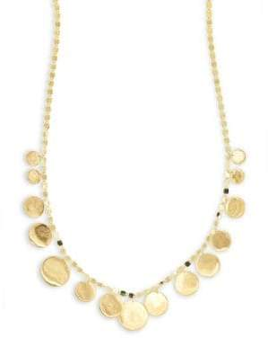 Lana 14K Yellow Gold Disc Frontal Necklace