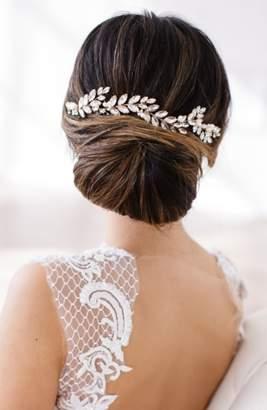 Crystal Pearl Brides & Hairpins Abrielle Crystal & Pearl Headpiece