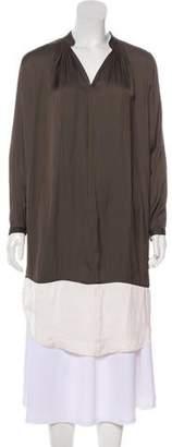 Ulla Johnson Bicolor Long Sleeve Midi Dress w/ Tags