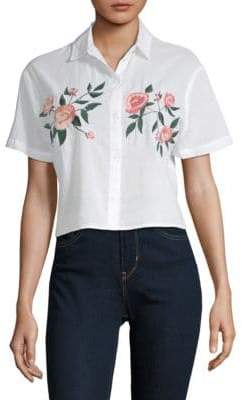 Rails Gretta Embroidered Button-Down Shirt
