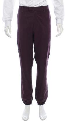 Bottega Veneta Cropped Flat Front Pants