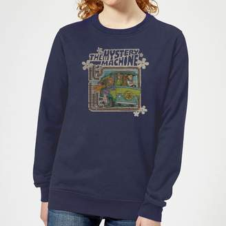 Scooby-Doo Mystery Machine Psychedelic Women's Sweatshirt