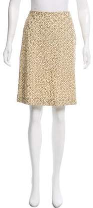 Marni Embroidered Knee-Length Skirt