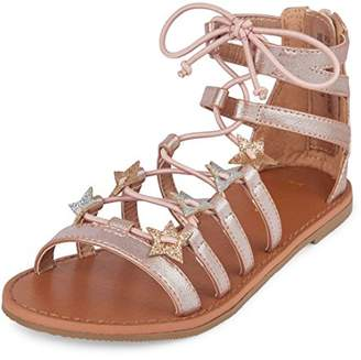 Children's Place The Girls' BG Star Candy GL Sandal