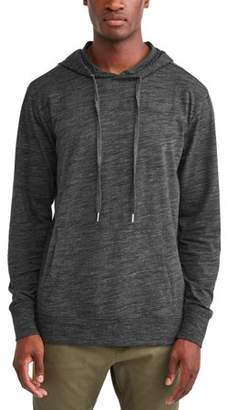 George Men's Long Sleeve Jersey Hoodie, Up to Size 5XL