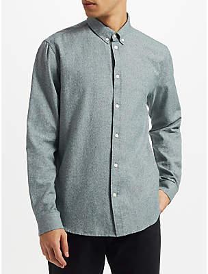 Samsoe & Samsoe Liam BX Long Sleeve Brushed Cotton Shirt