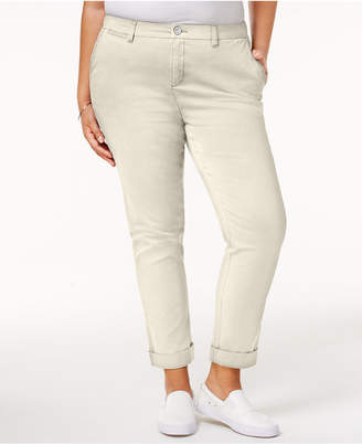 Style&Co. Style & Co Plus Size Cropped Chino Pants, Created for Macy's
