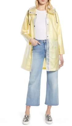 Halogen Patch Pocket Transparent Jacket