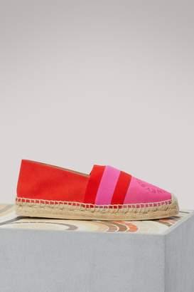 Stella McCartney Bi-colored espadrilles