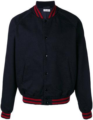 Saint Laurent Teddy bomber jacket $1,490 thestylecure.com
