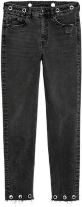 H&M Slim Mom Jeans - Black